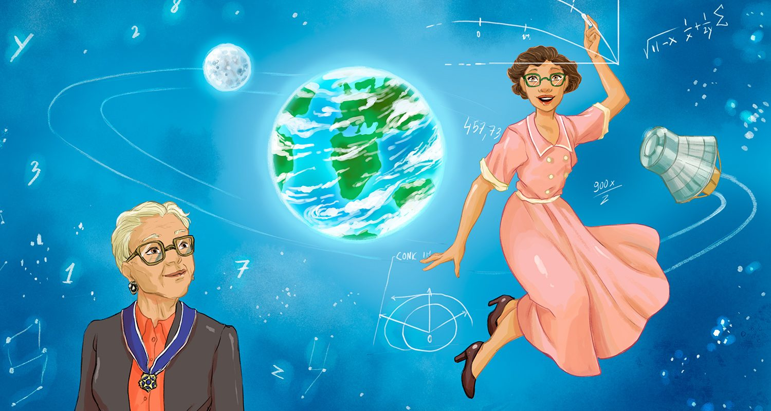 """"""" Women in Science and Tecnology - Kathrone Johnson """" © by Rourke Educational Media"""